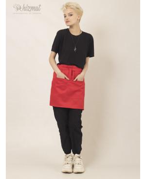 Base strap short red