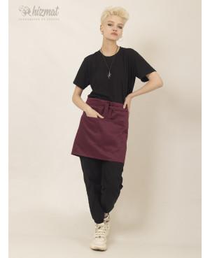 Base strap short burgundy