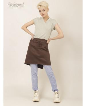Base strap short brown