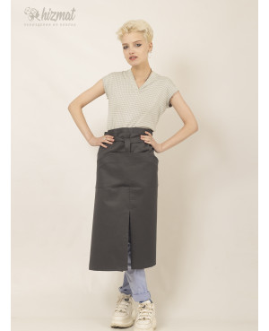 Base strap long grey