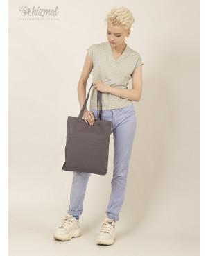 Eco shopper M grey