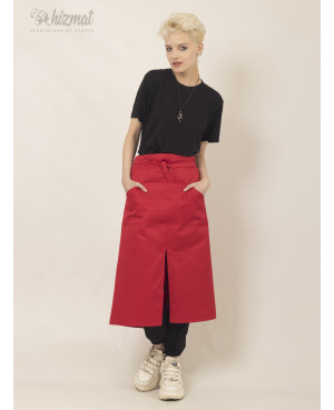 Base strap long red